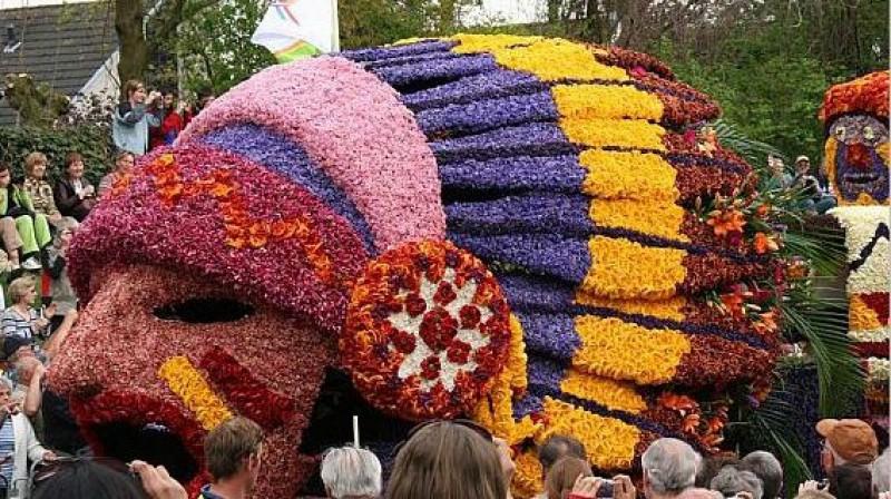 Фото выставки цветов в голландии