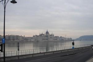 Вид на Дунай и Парламент