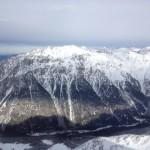 Вид со смотровой площадки с высоты 3200 метров